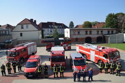 Vorschaubild zur Meldung: Feuerwehr live erleben