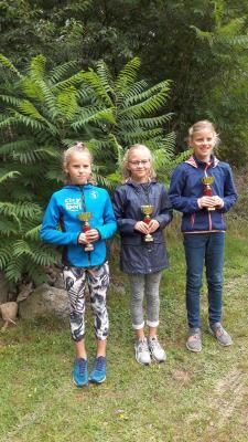Foto zur Meldung: Nachwuchsehrenpreis macht Laager Laufkinder stolz