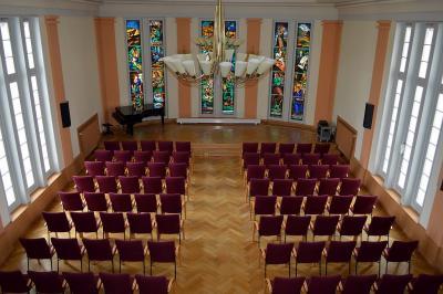 Unser Bild zeigt den Rathaussitzungssaal.
