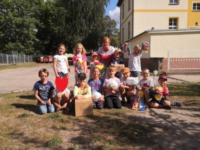 Vorschaubild zur Meldung: Neue Freizeitspielgeräte für die Kinder vom Hort Raxli-Faxli