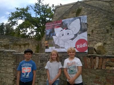 Vorschaubild zur Meldung: Rüdi, die Fledermaus aus Rüdersdorf