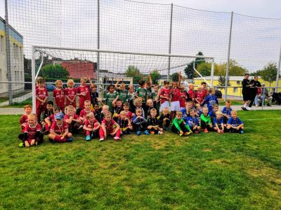 Gruppenfoto 1. Bambini Fair Play Turnier in Niemberg