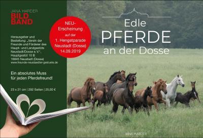 Edle Pferde an der Dosse - Bildband von Jana Harder