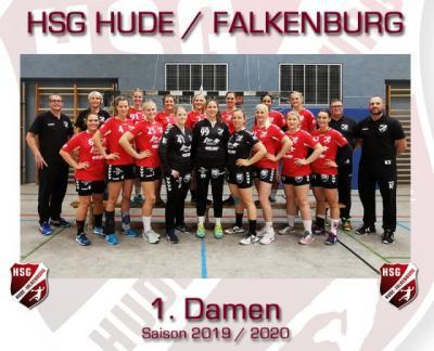 Vorschaubild zur Meldung: Erfolgreicher Saisonauftakt für Oberliga-Damen der HSG Hude/Falkenburg