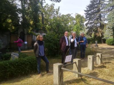 Vorschaubild zur Meldung: Tag des offenen Denkmals - Friedhof Dahlwitz