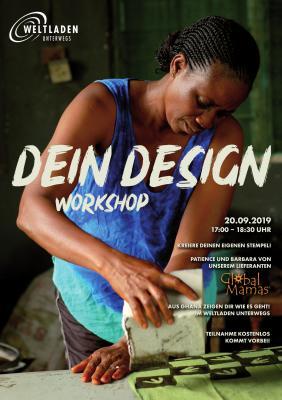 "Plakat ""Dein Design"""