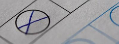 Vorschaubild zur Meldung: Hinweis der Wahlleitung zur amtlichen Wahlbenachrichtigungskarte/zum amtlichen Wahlscheinantrag