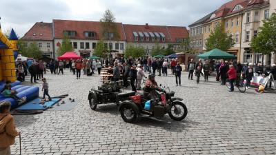 Vorschaubild zur Meldung: Tourismusbranche präsentiert sich auf dem Marktplatz