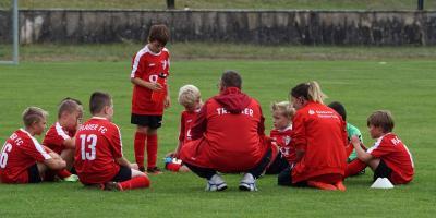 Foto zur Meldung: E-Junioren / Starkes Remis zum Saisonauftakt