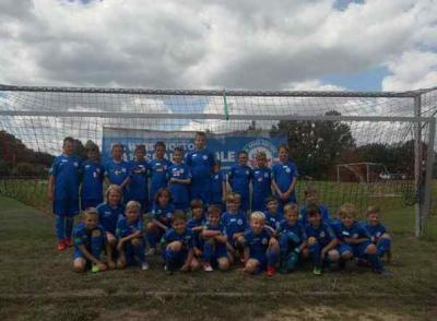 Foto zur Meldung: Junioren / F.C. Hansa Rostock Fußballcamp beim Plauer FC