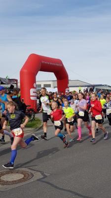 Foto zur Meldung: Spätsommerlauf lud die Läuferschar nach Kritzmow