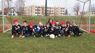 Foto zur Meldung: E1-Junioren / Heimsieg im Topspiel