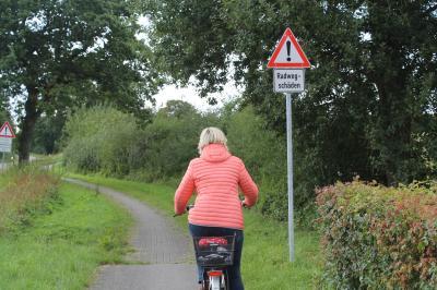 Foto zur Meldung: Radwege kurzfristig ausbessern!