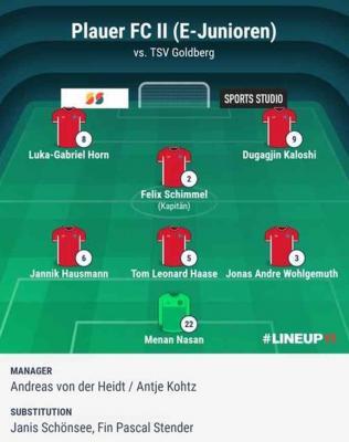 Foto zur Meldung: E2-Junioren / Endlich wieder Spieltag nach zwei spielfreien Wochenenden