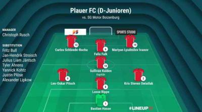 Foto zur Meldung: D-Junioren / Auswärtssieg und 3. Tabellenplatz