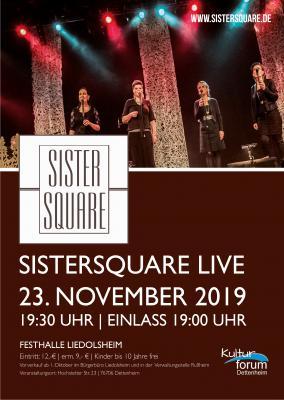 Vorschaubild zur Meldung: Kartenvorverkauf Sister Square