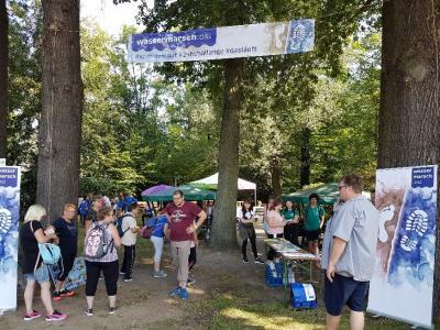 """Foto zur Meldung: Dritte Auflage des Laufprojekts """"WasserMarsch"""" sorgte für einen Spenden- und Teilnehmer-Rekord"""