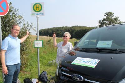 Foto zur Meldung: Magere Zwischenbilanz für den Dorfshuttle im Amt Hürup