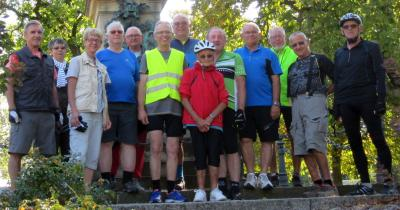 Foto zur Meldung: Mittwochsradler auf Fontanes Wegen im Oderbruch