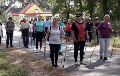 Foto zur Meldung: Nordic Walking in Zwierzyn