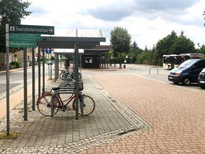Foto zur Meldung: Busbahnhof Lehnin