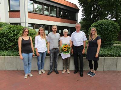 Foto zur Meldung: Renate Schmidt - 40 Jahre im öffentlichen Dienst