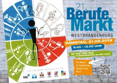 Foto zur Meldung: 21. Berufemarkt Westbrandenburg