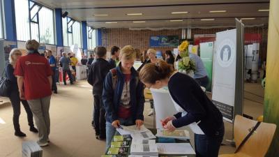 Foto zur Meldung: 16. Ausbildungs- und Studienbörse in Lübbenau