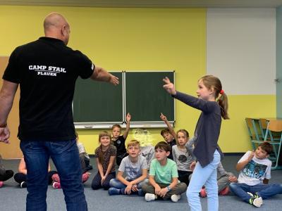 """Vorschaubild zur Meldung: Projekt """" Gewaltfreie Schule"""""""
