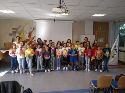 Foto zur Meldung: Herzlich Willkommen in der Puricelli Schule