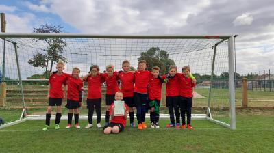 Foto zur Meldung: Sportler der Werner-Seelenbinder-Grundschule Lübbenau starten in die Wettkampfsaison