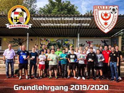 Foto zur Meldung: Schiedsrichter Neuanwärter Lehrgang 2019/2020 KFV Saalekreis und SFV Halle