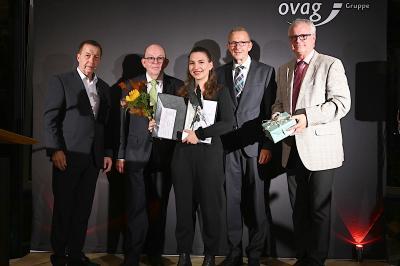 Vorschaubild zur Meldung: Zum 16. Mal ehrte die OVAG die Preisträger ihres Jugend-Literaturpreises