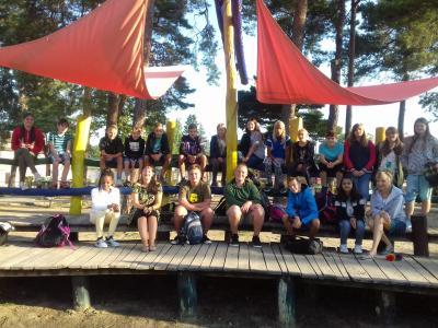 Foto zur Meldung: Kennenlernwoche in der Oberschule Schenkenland