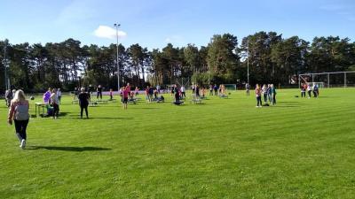 Foto zur Meldung: Familiensportfest