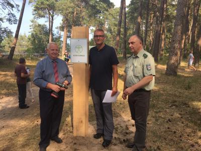Foto zur Meldung: Seebad Lubmin hat den ersten zertifizierten Schutzwald