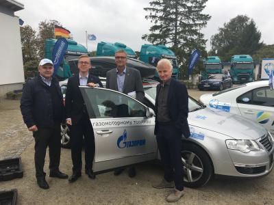 Foto zur Meldung: Blue Corridor Tour 2019 im Seebad Lubmin