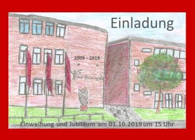 Foto zur Meldung: 10 Jahre Anne-Frank-Gemeinschaftsschule und Einweihung des Neubaus