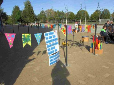 Vorschaubild zur Meldung: Einweihung des neu gestalteten Schulhofes in Walddrehna am 20.09.2019