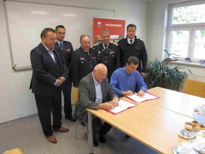 Vorschaubild zur Meldung: Kooperationsvereinbarung zwischen der Gemeinde Heideblick und TWL unterzeichnet