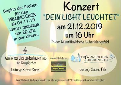 """Konzert """"Dein Licht leuchtet"""""""