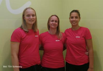 Foto zur Meldung: Neue C-Trainerinnen in der Schwimmsparte des TSV