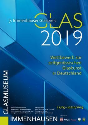 Vorschaubild zur Meldung: Wettbewerb zur zeitgenössischen Glaskunst in Deutschland  7. Immenhäuser Glaspreis wird vergeben