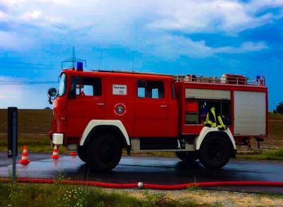 Foto zur Meldung: Ein neues Fahrzeug für die Göhlsdorfer Wehr - Danke der Feuerwehr Brandenburg