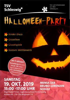 Vorschaubild zur Meldung: Halloween-Party des TSV-Jugendausschusses