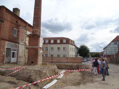 Vorschaubild zur Meldung: Bau der Stadtbibliothek im Klosterviertel beginnt