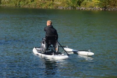 Foto zur Meldung: DKV-Trainerfortbildung zum Parakanusport im LLZ Hannover