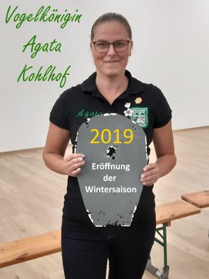 Vogelkönigin Agata Kohlhof