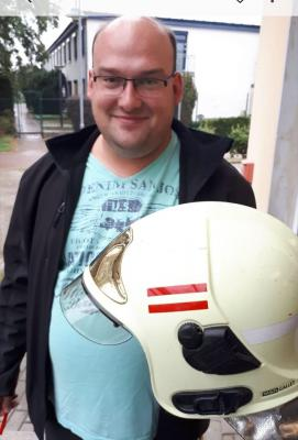 Foto zur Meldung: Grebser Daniel Random ist neuer Zugführer in unserer Gemeindefeuerwehr