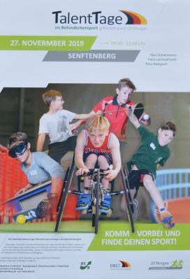 Vorschaubild zur Meldung: Talent Tag in Senftenberg - Behinderten- und Rehabilitationssportverband Brandenburg e.V.